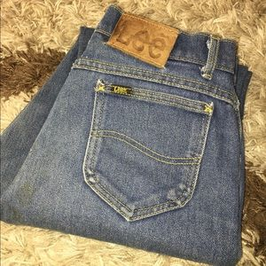 Women's Vintage Lee Highwasted Jeans